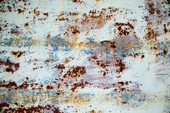 Beutiful rusty steel wall. Royalty Free Stock Images