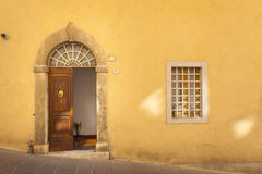 Beutiful small town in Tuscany, Italy Royalty Free Stock Images