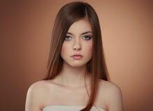 Beutiful teenage girl Stock Photos