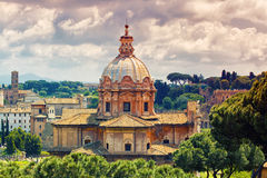 Beutiful view of Rome Royalty Free Stock Photography