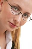 Beutiful Woman. Woman with glasses Stock Photo