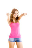 Beutiful young woman Royalty Free Stock Photo