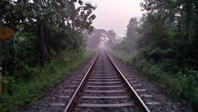Beutifule-Eisenbahn lizenzfreie stockbilder