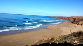 Beutifull, plaża Obrazy Royalty Free
