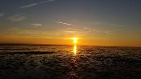 Beutifull solnedgång Royaltyfria Bilder