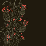 Beuty greeting card Stock Images