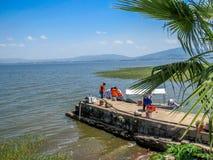 Beutyful jezioro Obraz Royalty Free