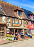 Beuvron-EN-Auge, Καλβάδος, Νορμανδία, Γαλλία Στοκ εικόνα με δικαίωμα ελεύθερης χρήσης