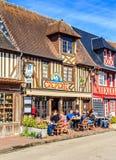 Beuvron-en-Auge, Calvados, Normandy, França Imagem de Stock Royalty Free
