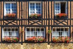 Free Beuvron-en-Auge, Typical House Facade Stock Image - 32406341