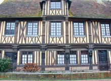 Beuvron-en-Auge Village Architecture In France. Royalty Free Stock Photography