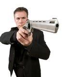 beväpnad man Fotografering för Bildbyråer