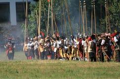 beväpnad period Royaltyfria Bilder
