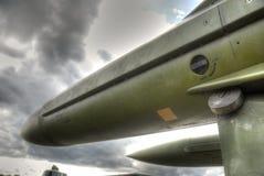 BEVÄPNAD SAM-missil Arkivbilder