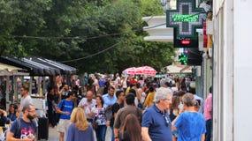 Bevölkertes Lissabon Lizenzfreie Stockfotos