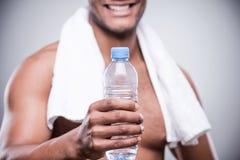Beva una certa acqua! Immagine Stock Libera da Diritti