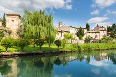 Bevagna, Úmbria em Itália imagens de stock royalty free