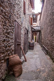 Bevagna. Gaite Market - Old town of Bevagna - Perugia - Italy Royalty Free Stock Photo
