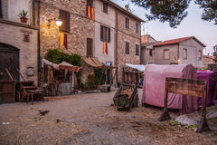 Bevagna. Gaite Market - Old town of Bevagna - Perugia - Italy Stock Images