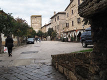 Bevagna medieval town in Italy Stock Photo