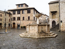 Bevagna medieval town in Italy Royalty Free Stock Photography