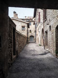 Bevagna medieval town in Italy Royalty Free Stock Image