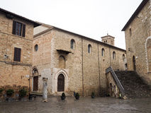 Bevagna medieval town Stock Photo