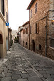 Bevagna. Old town of Bevagna - Perugia - Italy Stock Photo