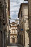Bevagna Perugia, Úmbria, cidade histórica Fotografia de Stock Royalty Free