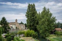 Bevagna Perugia, Úmbria, cidade histórica Foto de Stock