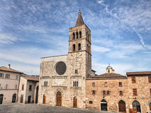 Free Bevagna, Perugia, Umbria, Italy: The Ancient Church Of S. Michel Stock Photo - 97074430