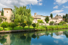 Bevagna Umbria i Italien royaltyfria bilder