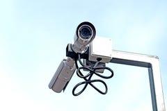 Bevakningkamera Royaltyfri Fotografi