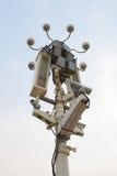 Bevakningkameror Fotografering för Bildbyråer