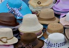 Bevallige hoeden Stock Foto