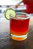 Bevanda alcolica arancio Immagine Stock