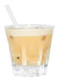 Bevanda beige di Brown Creamsicle Fotografia Stock
