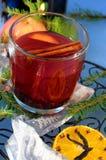 Bevanda calda di natale Fotografia Stock