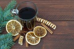 Bevanda calda per il Natale Fotografia Stock Libera da Diritti
