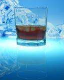 Bevanda con ghiaccio Fotografia Stock