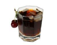 Bevanda con ghiaccio Immagini Stock