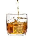 Bevanda con ghiaccio Fotografie Stock
