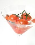 Bevanda dei pomodori immagini stock