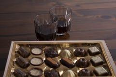Bevanda del bonbon di feste Fotografia Stock Libera da Diritti