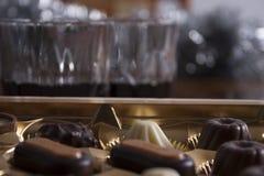 Bevanda del bonbon di feste Immagini Stock Libere da Diritti