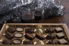 Bevanda del bonbon di feste Immagini Stock