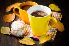 Bevanda del cacao Immagine Stock