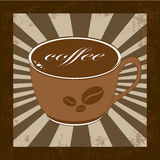 Bevanda del caffè illustrazione vettoriale