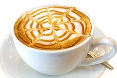 Bevanda del caffè del cappuccino Immagini Stock Libere da Diritti