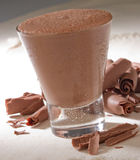 Bevanda del cioccolato Immagine Stock